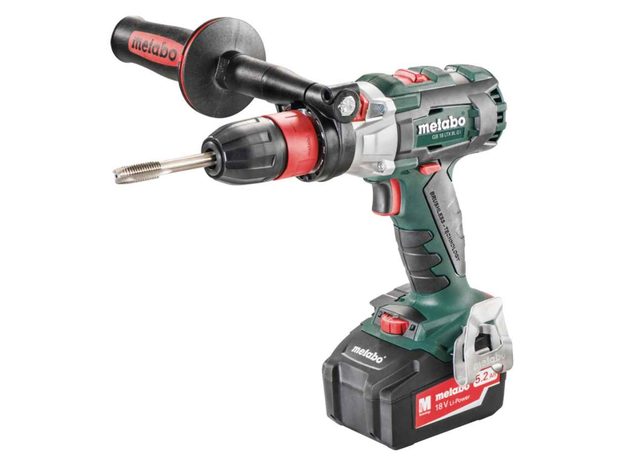 metabo 603827500 18v 2x5 2ah li ion cordless drill driver kit. Black Bedroom Furniture Sets. Home Design Ideas
