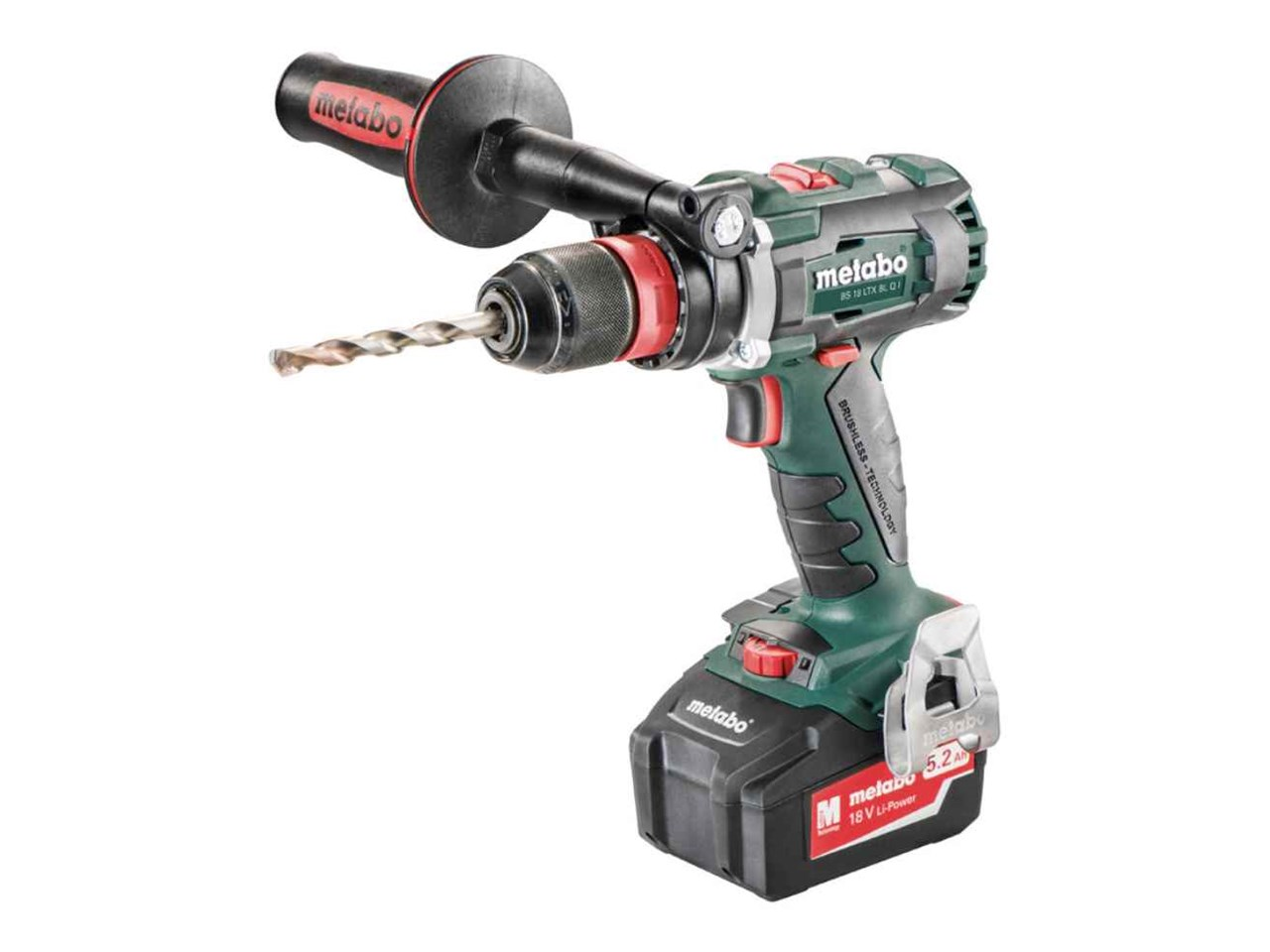 metabo bs18 ltx blqi 18v 2x5 5ah lihd brushless drill driver kit. Black Bedroom Furniture Sets. Home Design Ideas