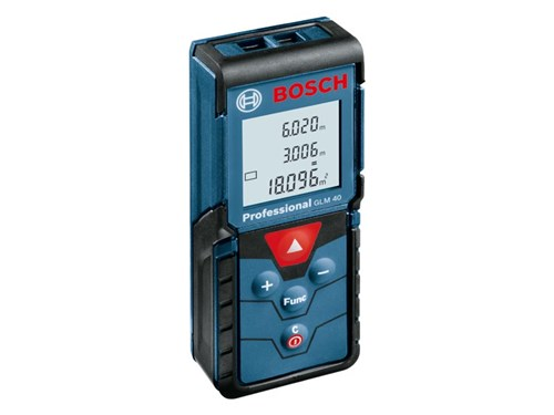 bosch glm40 40 metre laser measurer range finder. Black Bedroom Furniture Sets. Home Design Ideas