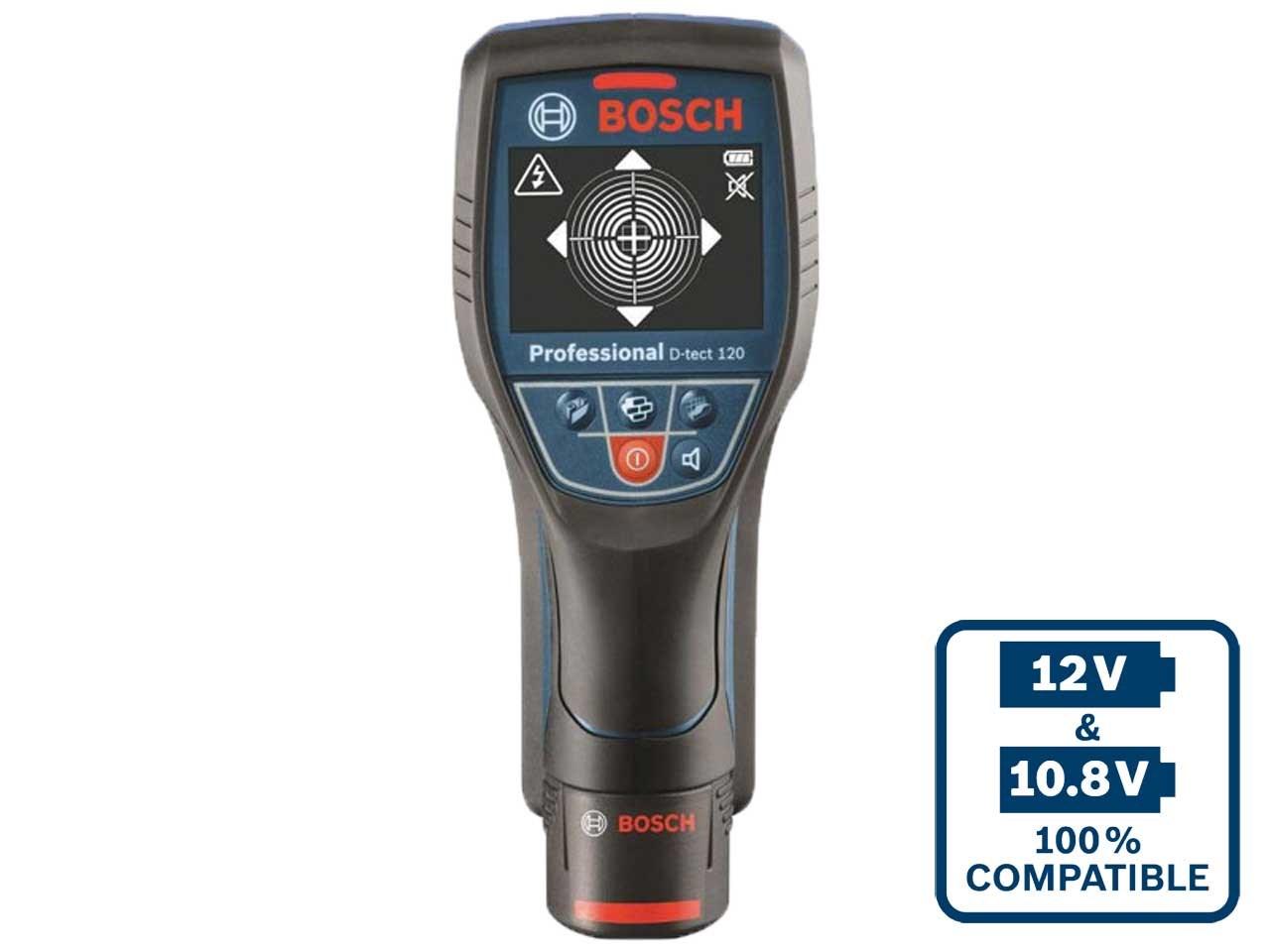 Bosch DTECT120 12v 1 x 1 5Ah Li-Ion Radar Wall Scanner