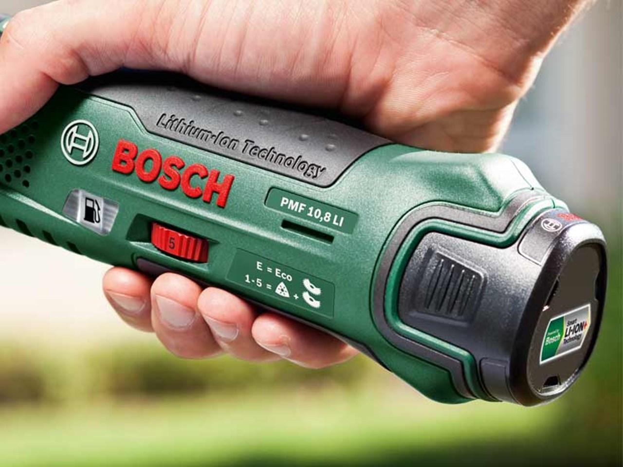 bosch green pmf 10 8 li multi function tool 1 x 1 3ah li ion