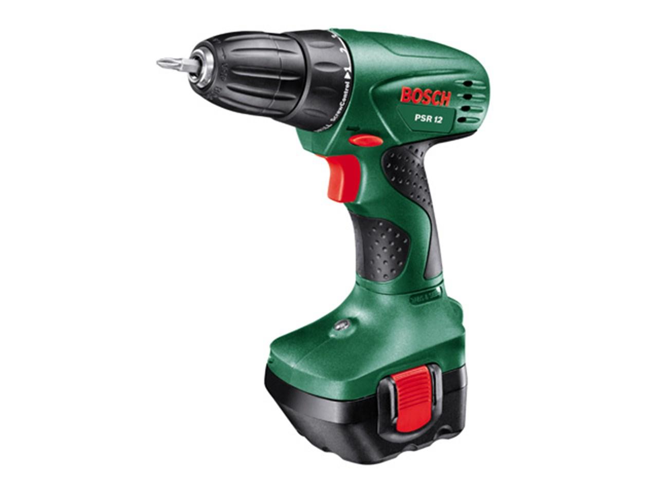 Bosch Green PSR12 12v Cordless Drill Driver