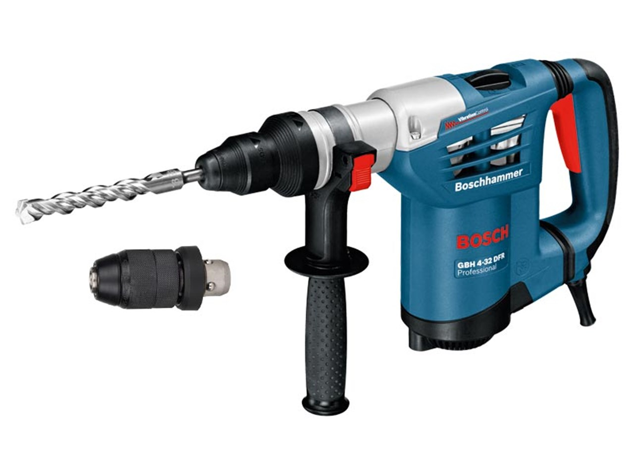 bosch gbh432dfr rotary hammer drill with sds plus 110v 900w. Black Bedroom Furniture Sets. Home Design Ideas