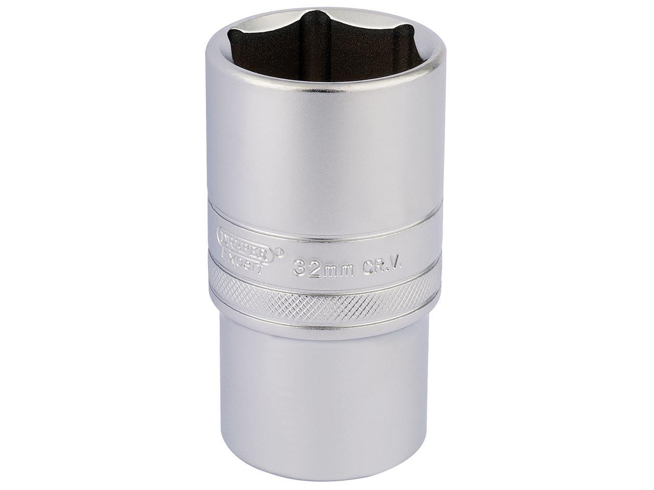 Expert BRIE117288B Bi-Hexagon Deep Socket 1//2in Drive 23mm