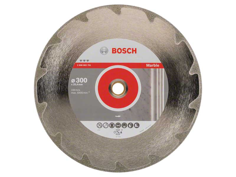 Silver//Grey Bosch Professional 2608602654 Diamond Cutting disc Best for Concrete