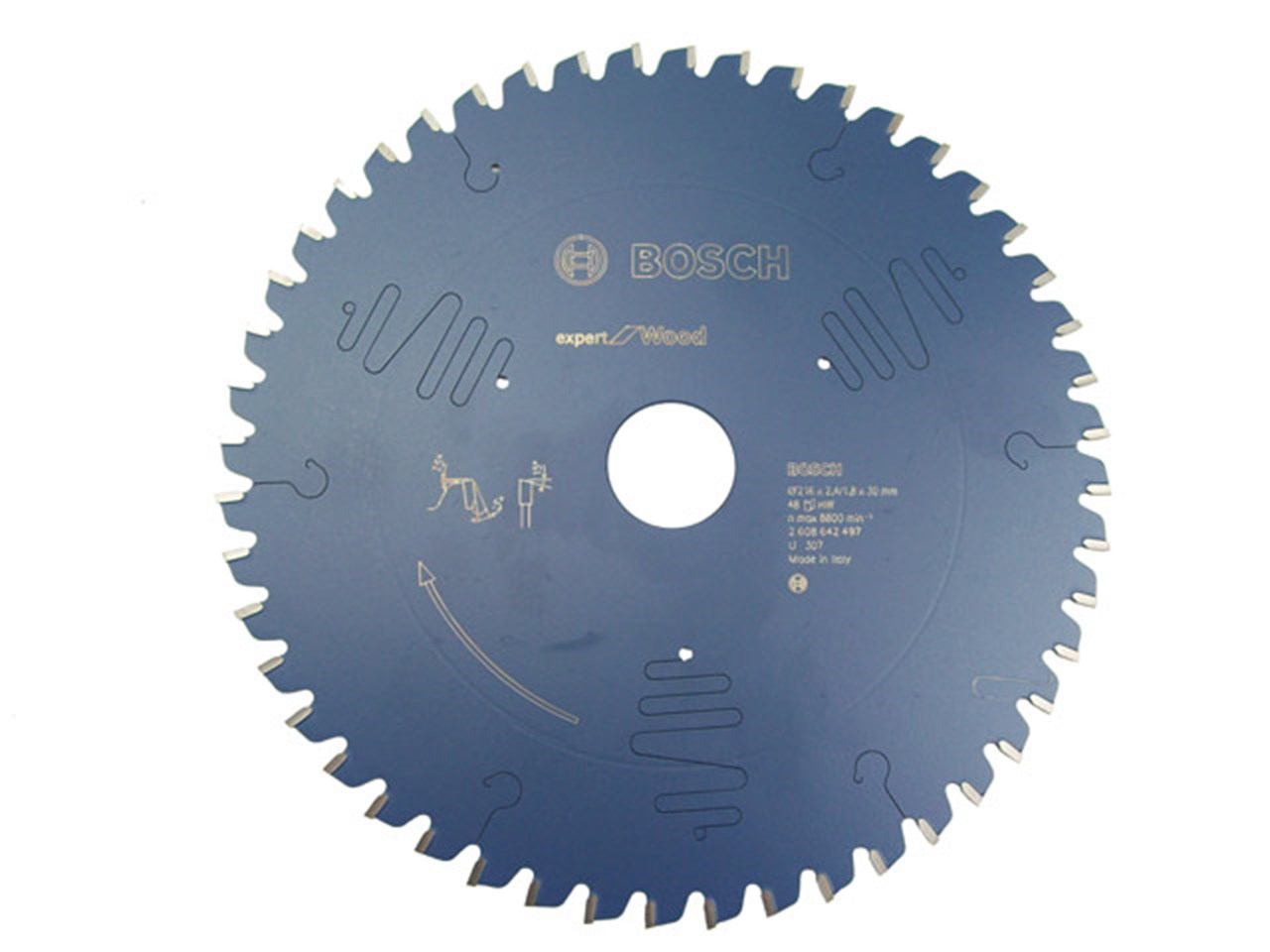 Bosch 2608642497 expert wood circular saw blade 216mm x 30mm x 48t greentooth Image collections