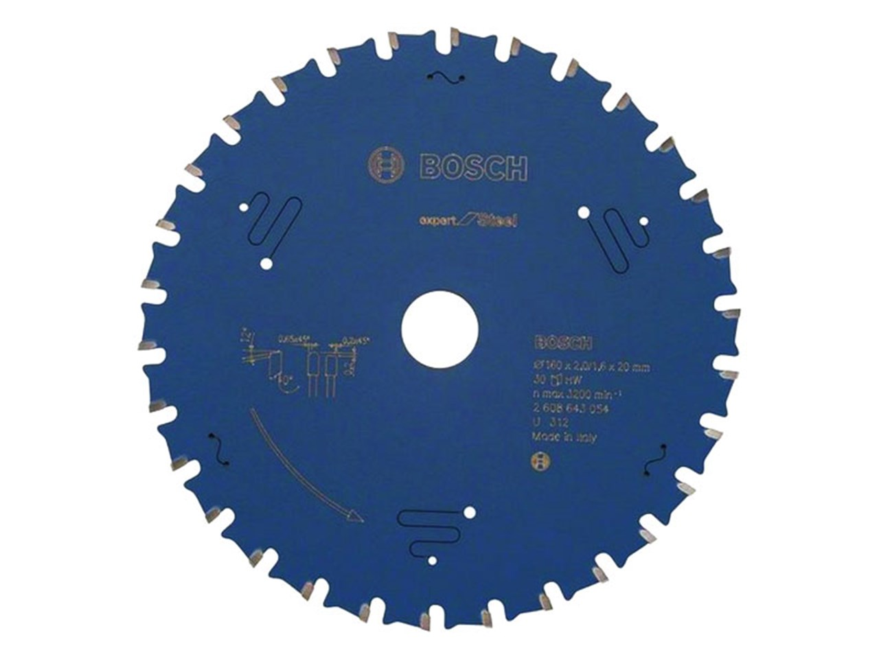 Bosch 2608643054 circular saw blade expert for steel greentooth Choice Image