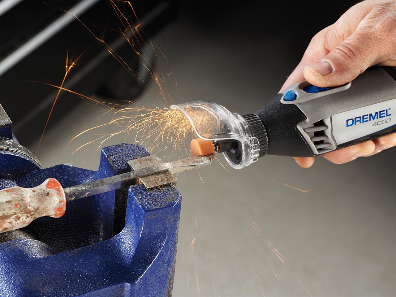 Dremel 2 x 8193 Aluminum Oxide Grinding Stone 15.9mm New