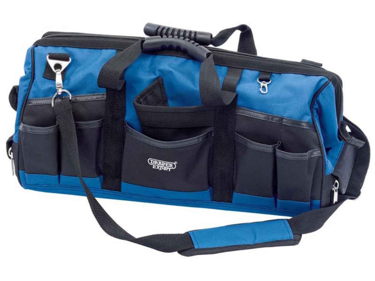 Draper B519A 610 x 170 x 190mm Canvas 20L Tool Bag