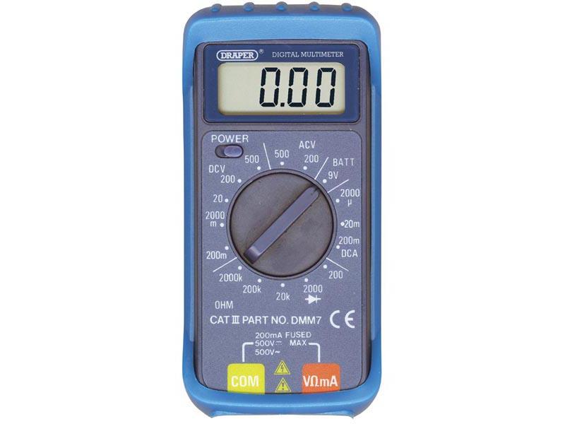 DRAPER 52320 16 Function Digital Multimeter
