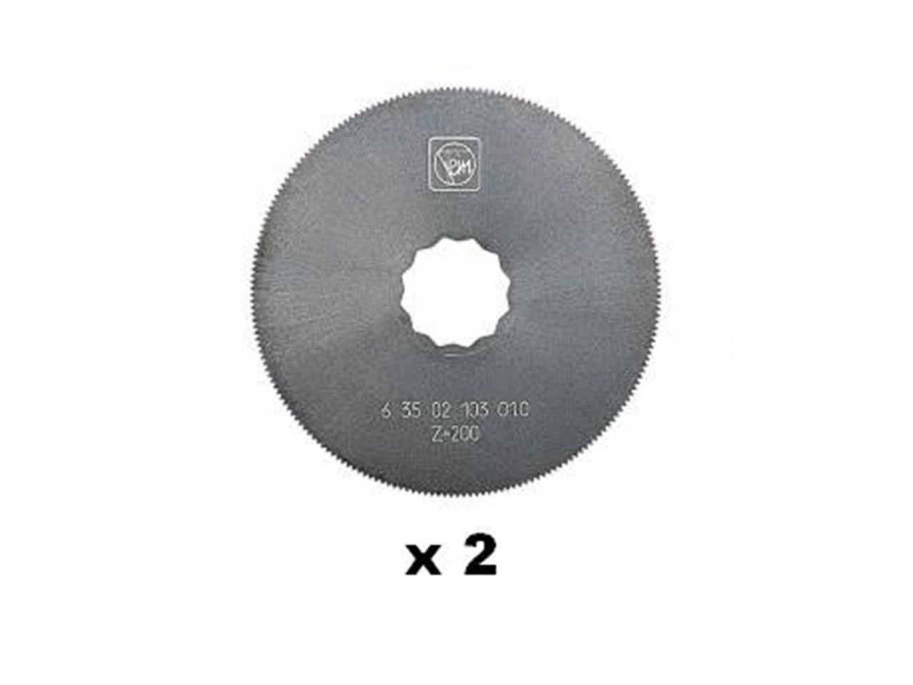 Fein 63502102016 Supercut 63mm HSS Saw Blade x 2