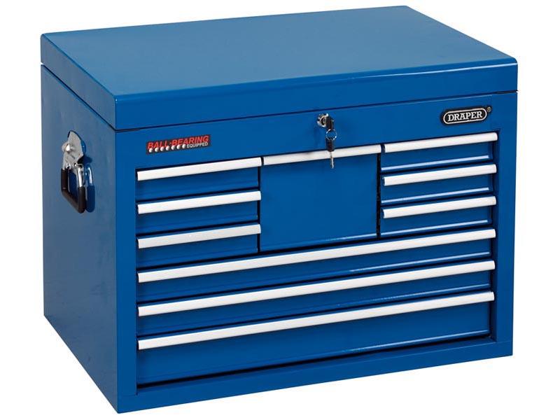 Draper tc10b bl 10 caj n azul mueble para herramientas ebay for Cajon herramientas taller