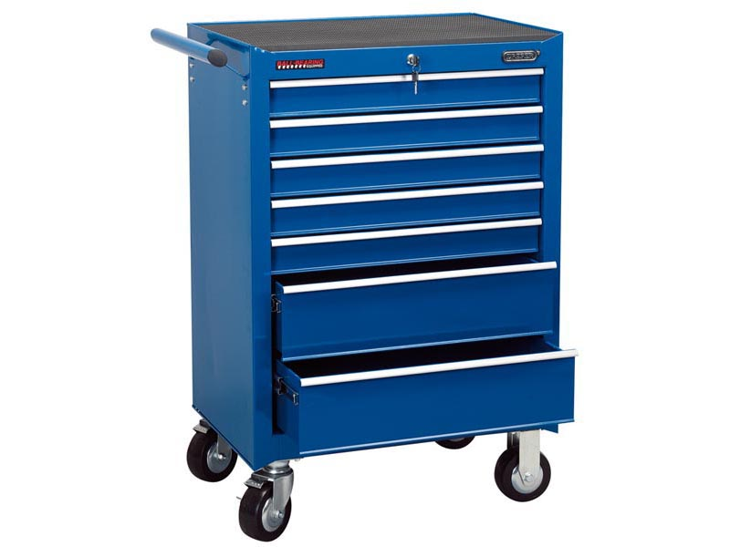 Draper RC7B/BL 7 Drawer Blue Roller Cabinet