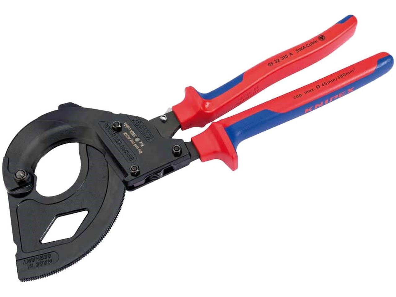 Knipex 82575 315mm Ratchet Action Cable Cutter For SWA Cable