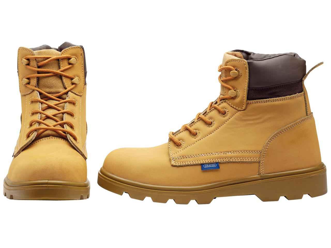 9147228d85b Draper Nubuck Style Honey Safety Boots Various Sizes
