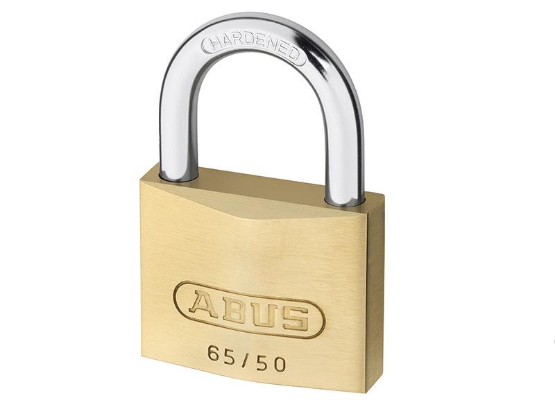 Home, Furniture & DIY Locks Yale Locks YALY12150 50 mm Brass Finish Padlock Closed Shackle
