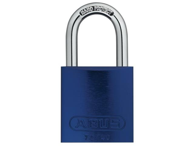 ABUS T84MB//40mm Black Rustproof Padlock Keyed Alike 8401 ABUKA24728
