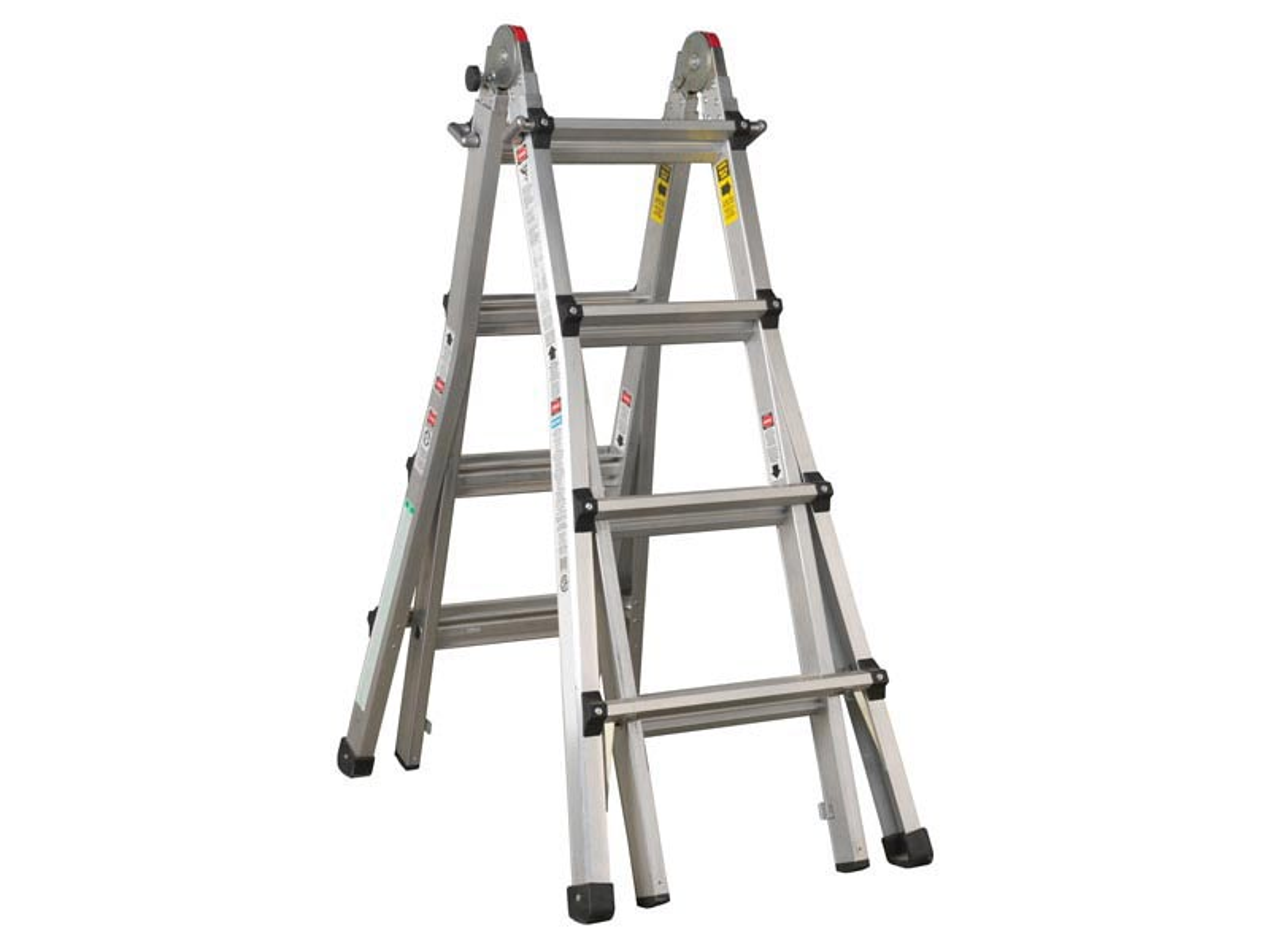Midland Extendable Aluminum Ladders : Sealey afpl aluminium telescopic ladder way en