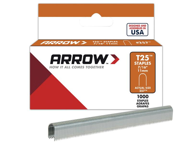 ARROW Insulated Staples 300 Clear 6x6mm