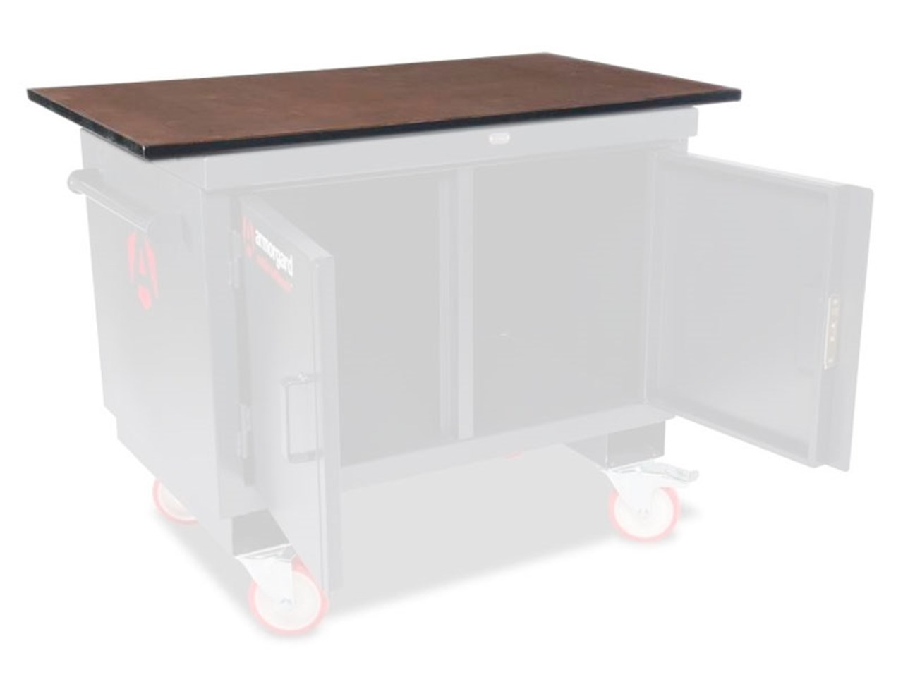 Armorgard Bh1270m W Wooden Worktop For Mobile Tuffbench