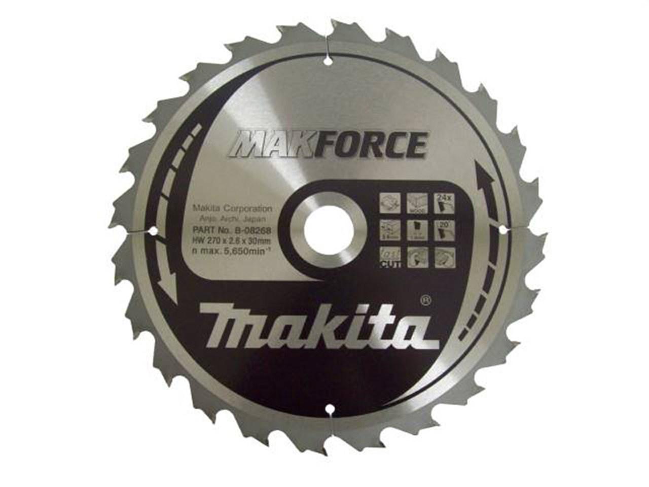 Makita b 08268 270mm x 30mm x 24t circular saw blade greentooth Gallery