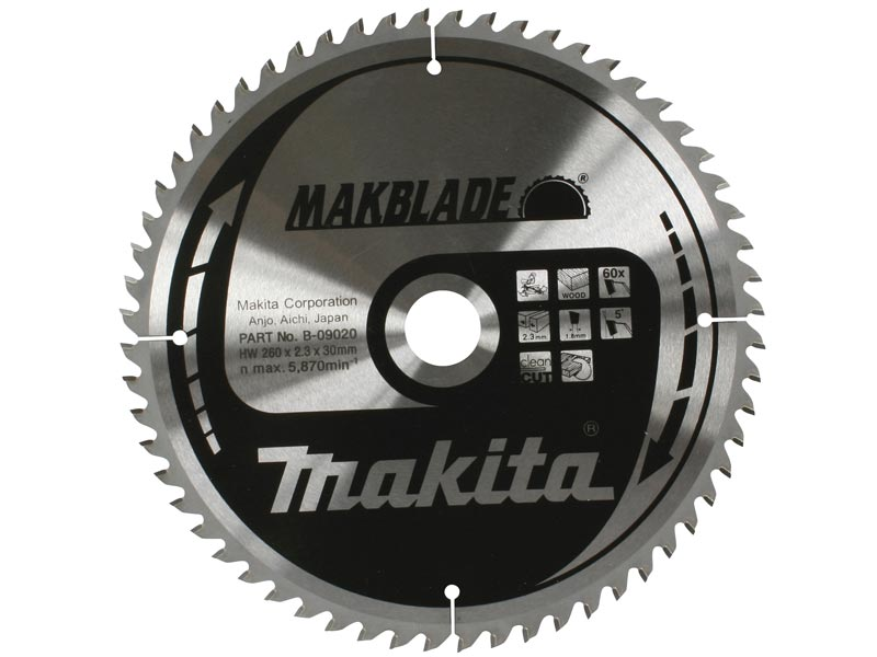 SUITS MAKITA Bosch ULTIMATE 260mm x 30mm x 80T Mitre Saw blade