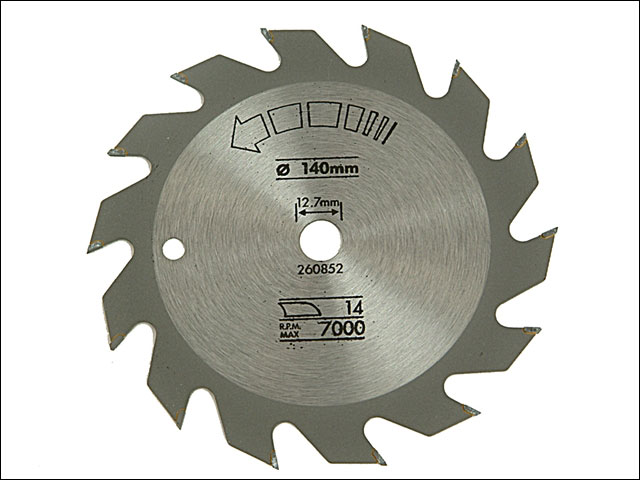 Black and decker x13000 circular saw blade rip 140mm x 127mm x 14t greentooth Gallery