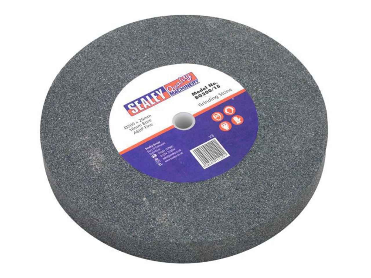 Sealey Bg200 15 216 200 A60p Fine Grinding Stone For Bench