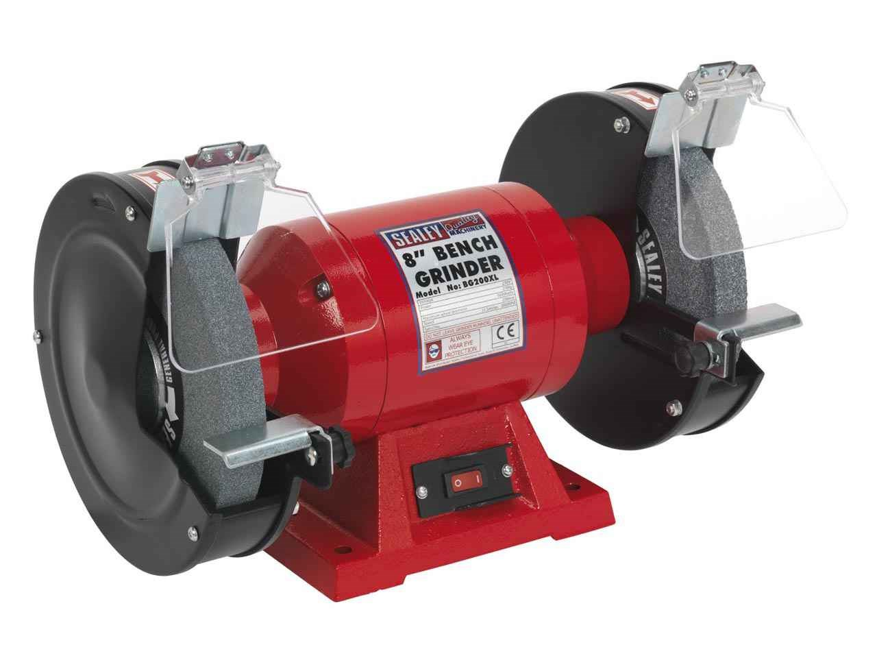 Admirable Sealey Bg200Xl 230V Bench Grinder 200Mm 560W Alphanode Cool Chair Designs And Ideas Alphanodeonline