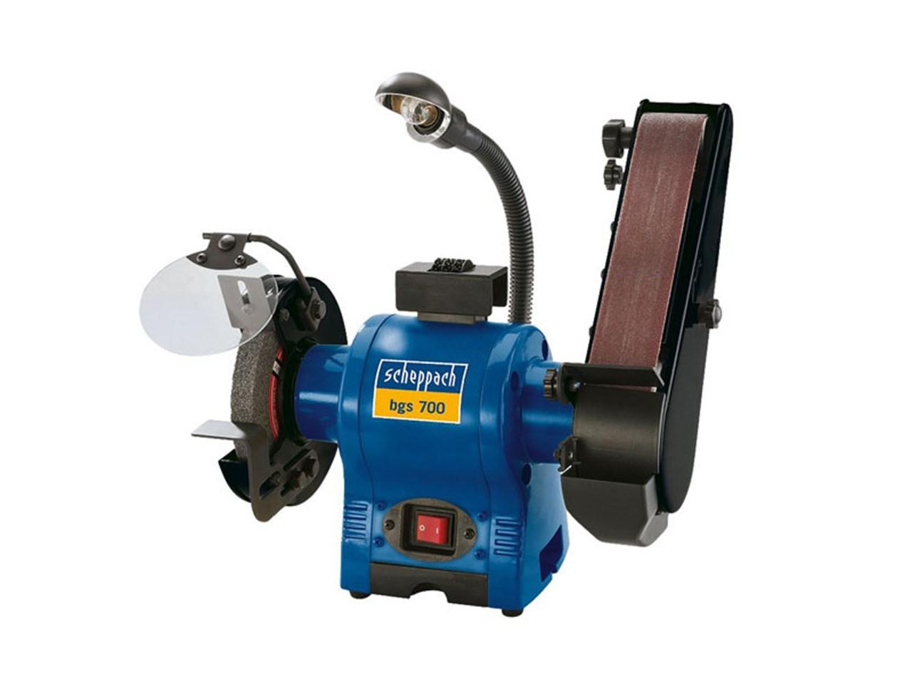 Scheppach bgs700 240v grinder and belt sander linisher for Table grinder