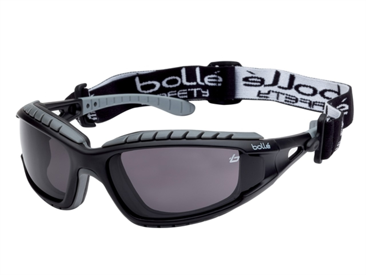 ca4adc139a Bolle TRACPSF Tracker Safety Glasses Vented Smoke