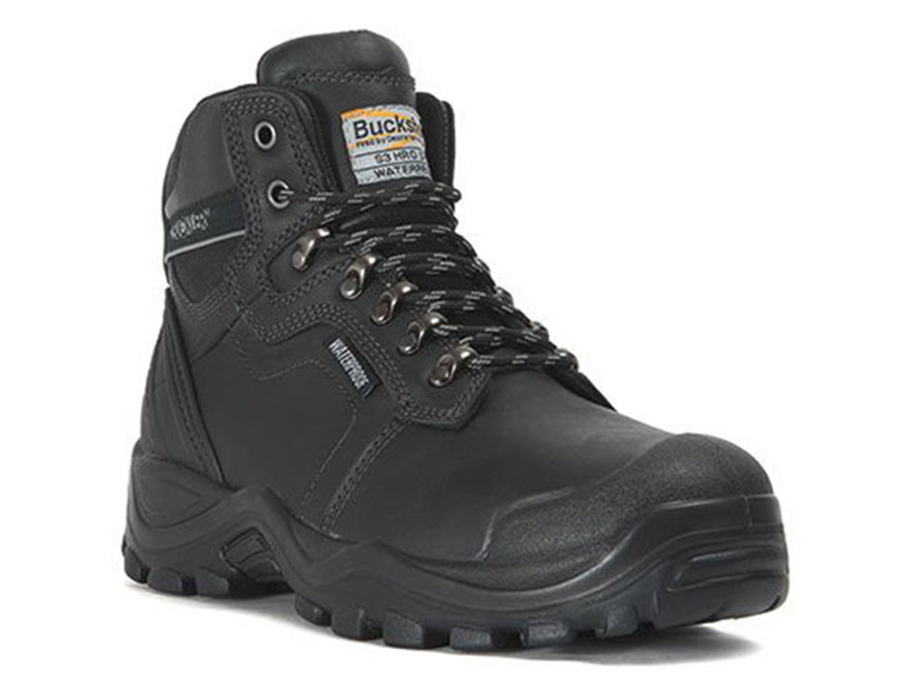 the sale of shoes outlet on sale online retailer Buckler BSH009WPBK SIZE 6 Black Waterproof Safety Boots Size 6 ...