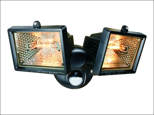 Byron BYRES400W Halogen Floodlight with Motion Detector White 400W