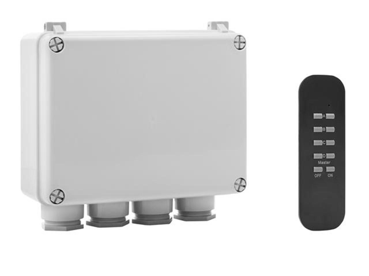 Byron Byrsh5set Outdoor 3 Way Switch Box Remote Electronics