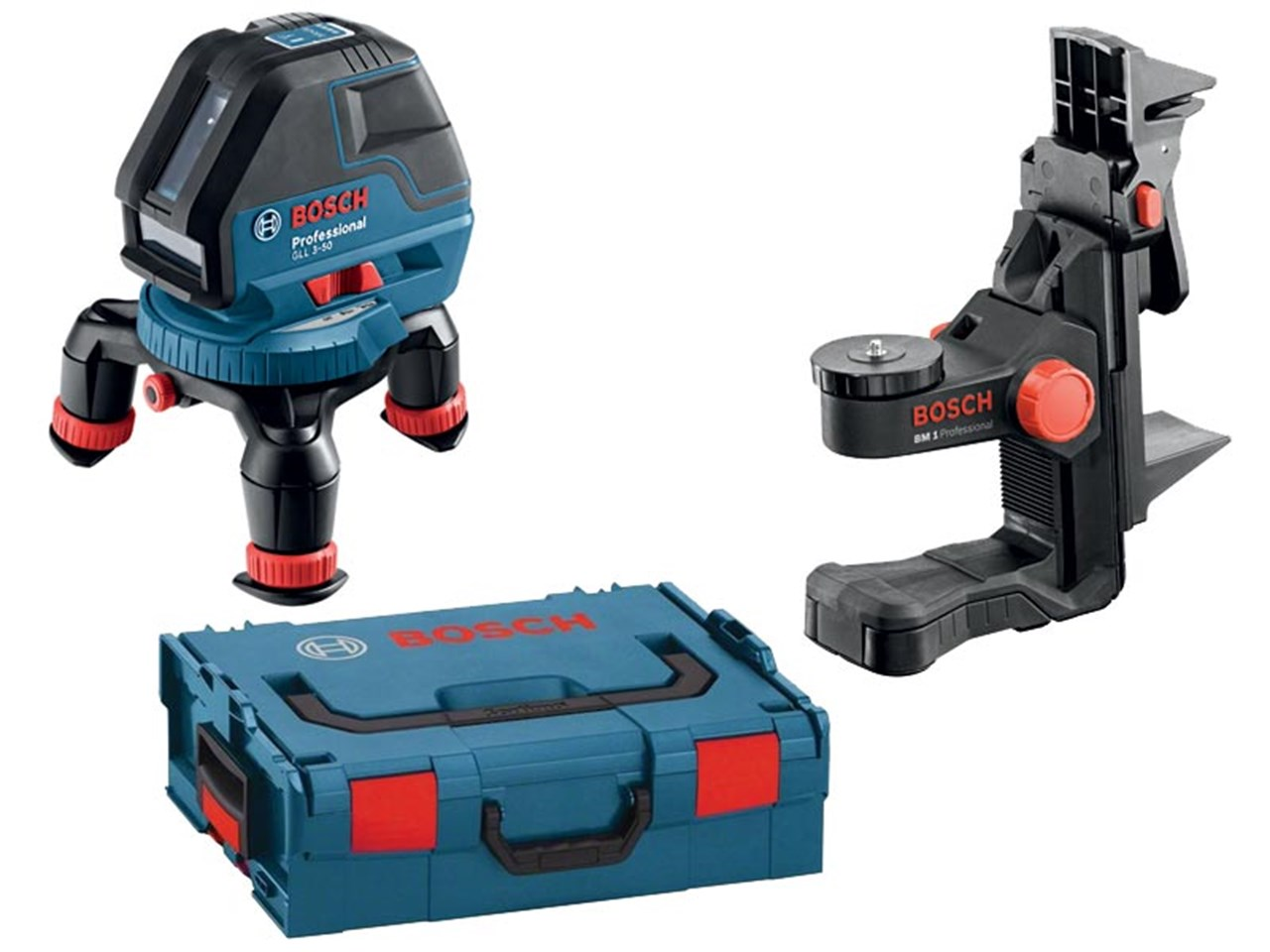 Bosch Gll350bmlbx Multiline Laser With Bm1 Wall Mount In L Boxx Gll 3 15 Level Mini