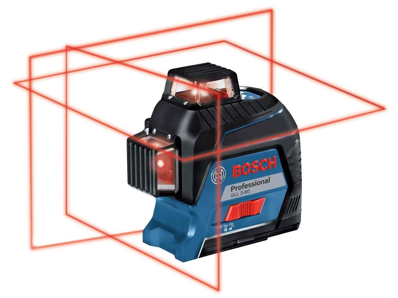 bosch gll 3 80 professional cross line laser. Black Bedroom Furniture Sets. Home Design Ideas