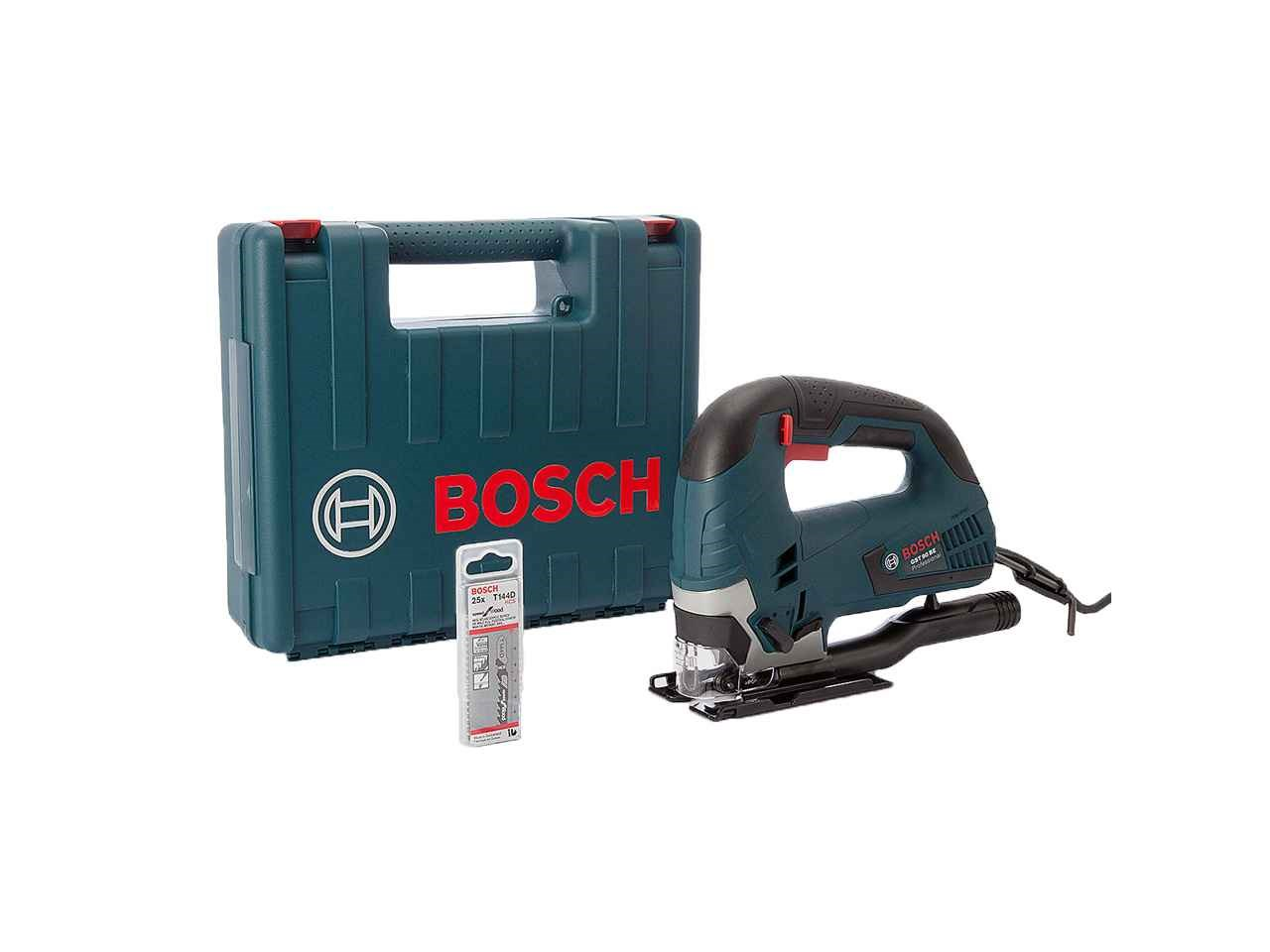 Bosch gst 90 be 1bl 230v 650w bow handle jigsaw with 25 x blades greentooth Choice Image