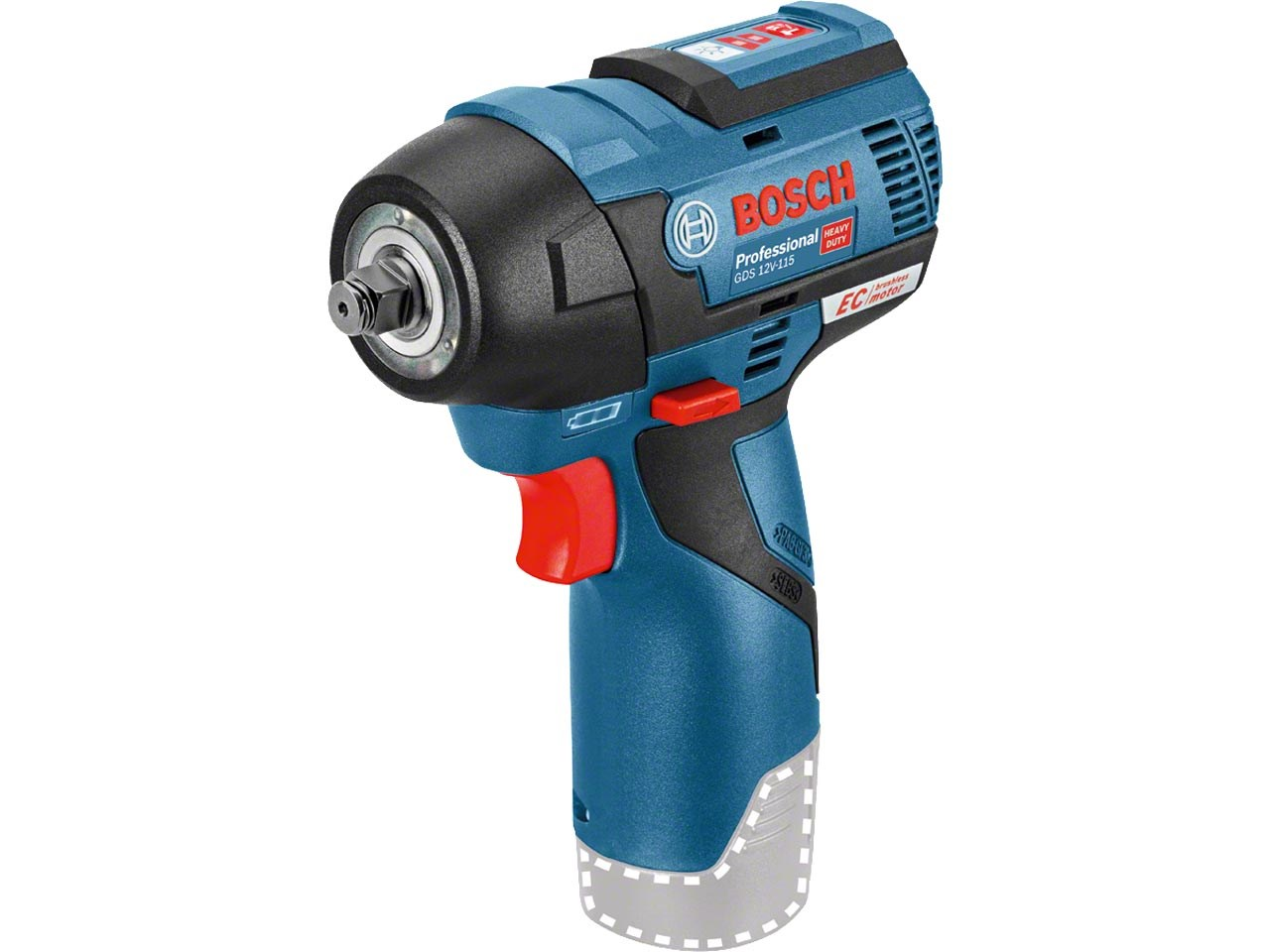 Magnifiek Bosch GDS12V115N 12v Li-Ion Brushless Impact Wrench Bare Unit HA19