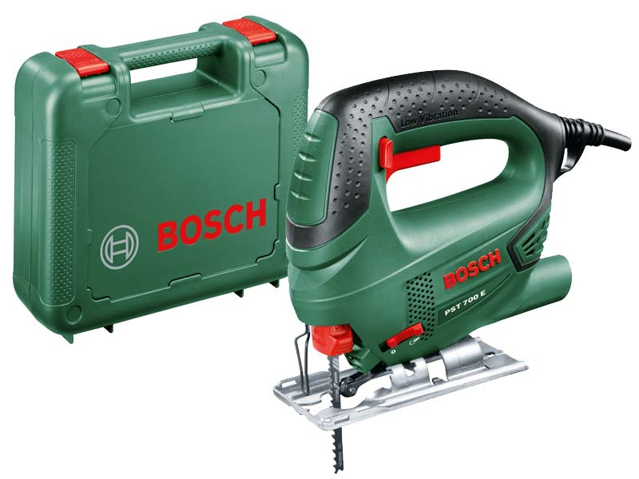 bosch green pst 700 e 240v compact jigsaw 500w. Black Bedroom Furniture Sets. Home Design Ideas