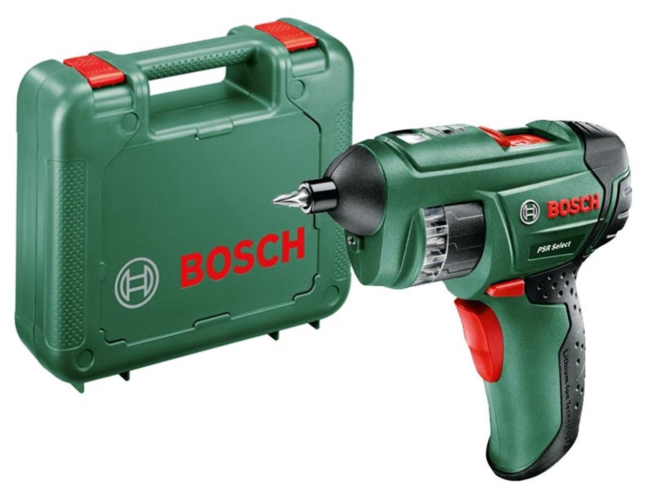 bosch green psr select cordless screwdriver li ion. Black Bedroom Furniture Sets. Home Design Ideas