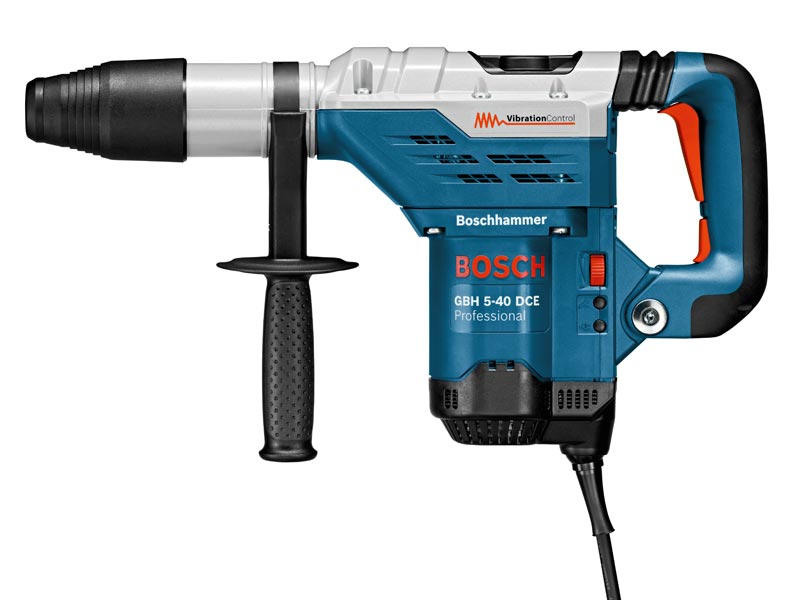 Bosch GBH5-40DCE SDS Max Rotary Combi Hammer Drill 240v