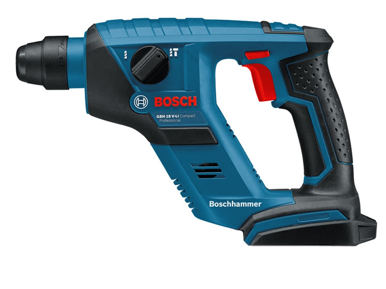 bosch gbh18vlicpn 18v compact li ion sds rotary hammer drill bare unit. Black Bedroom Furniture Sets. Home Design Ideas