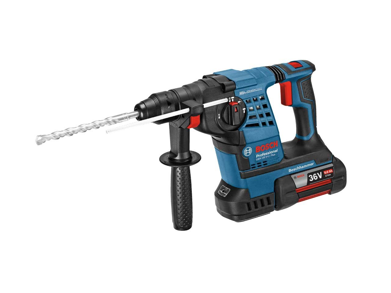 bosch gbh 36 v li plus 36v 2x6 0ah sdsplus professional cordless rotary hammer. Black Bedroom Furniture Sets. Home Design Ideas