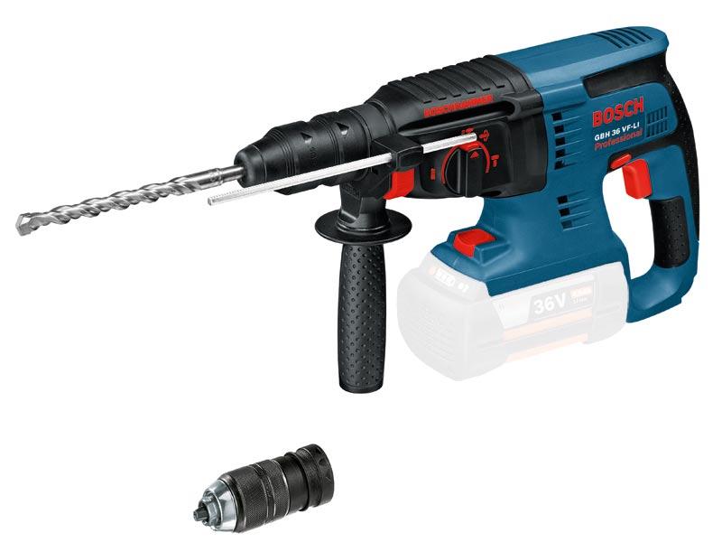 Bosch GBH36VLIPN 36v SDSPlus Hammer Drill Bare Unit