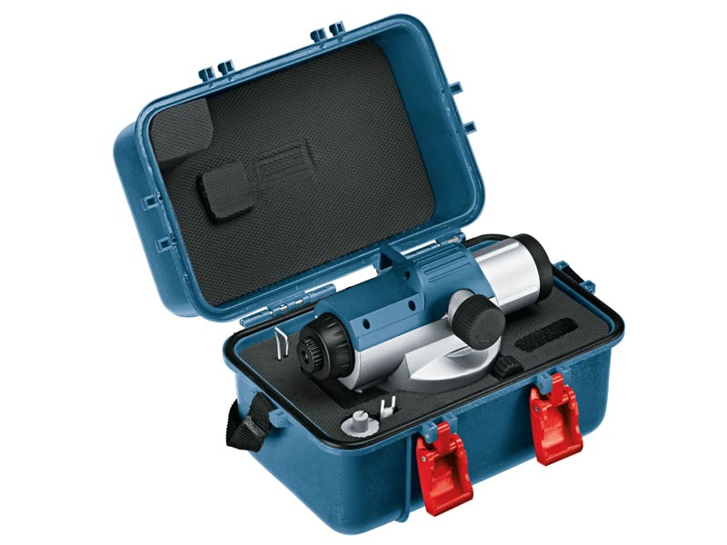 Bosch GOL 26 D Optical Level with Tripod and Levelling Rod