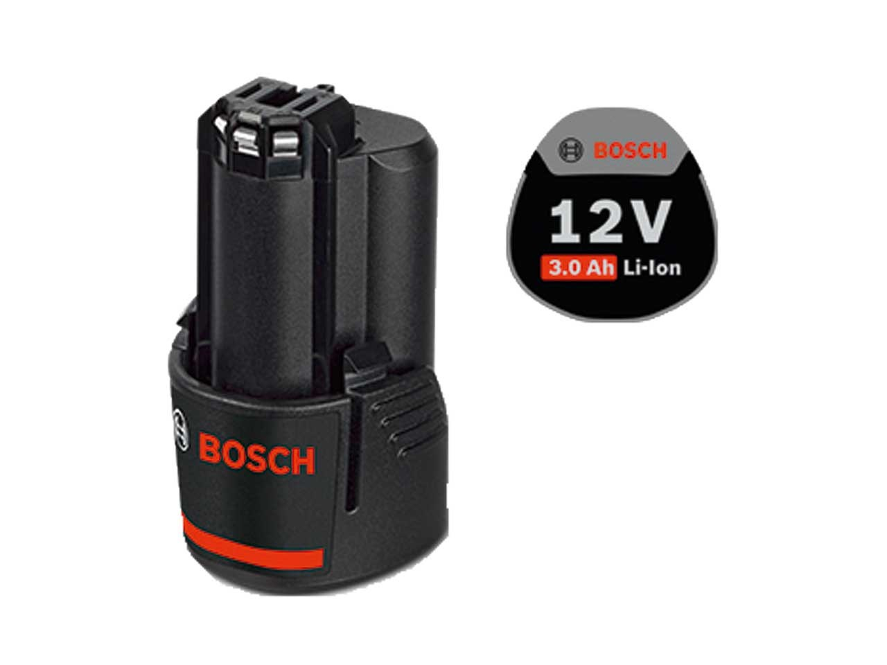 bosch gba 3 0 12v 3 0ah professional compact battery. Black Bedroom Furniture Sets. Home Design Ideas