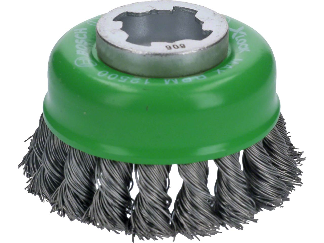 Bosch 2608620729 X-LOCK 75mm x 0 5mm Knotted Wire Cup Brush