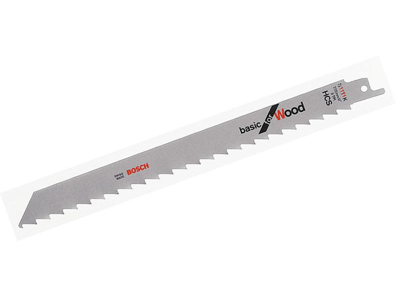 Bosch s1111k sabre saw blades wood type 5pk greentooth Gallery