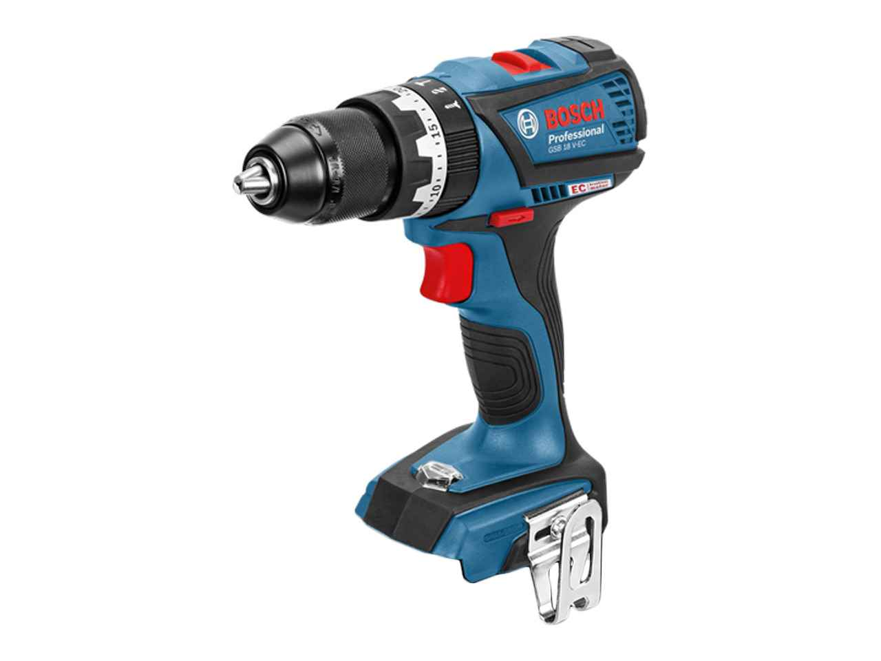 bosch gsb 18v ecn 18v brushless combi drill bare unit. Black Bedroom Furniture Sets. Home Design Ideas