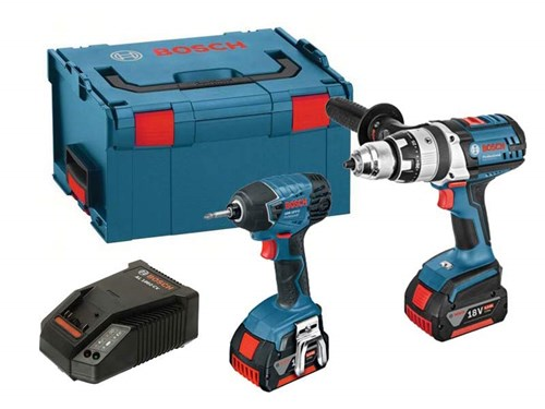 bosch gsbrstwin 18v combi drill and impact driver twin kit 2 x 4ah in l boxx 3165140787512 ebay. Black Bedroom Furniture Sets. Home Design Ideas